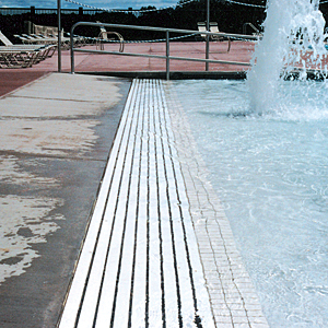 Perimeter Recirculation Systems And Swimming Pool Gutters